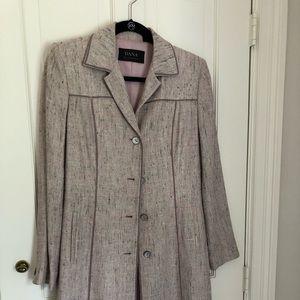 DANA Bachman silk blend coat